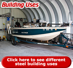 Click here review some of the different steel building uses.