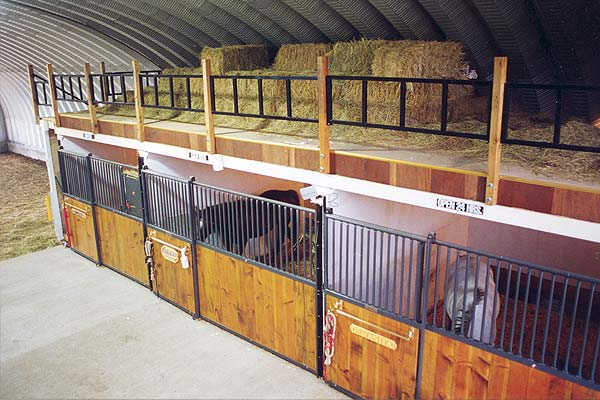 International steel span horse barns riding arena metal for Building a horse stable