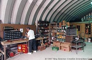 Small Shops International Steel Span