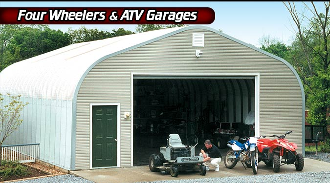 Small Metal Carports For Atv : Steel buildings metal building systems barns