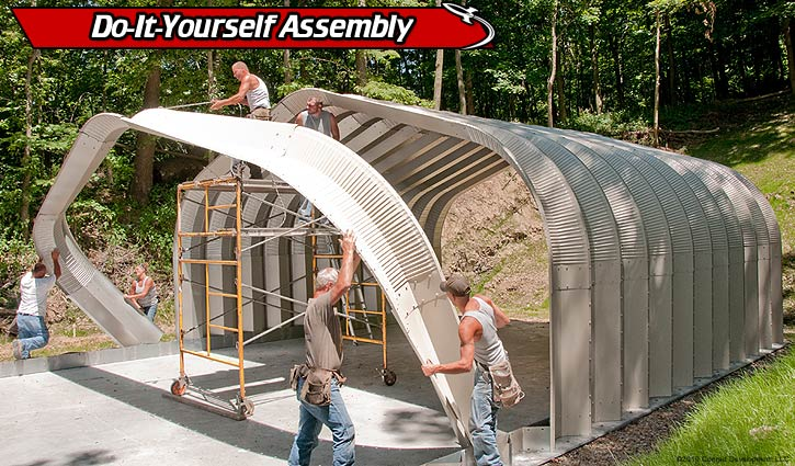 Steel Building Assembly